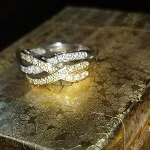 14k Yellow and White Gold 1/3 CT Diamond Ring